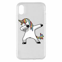 Чехол для iPhone X/Xs Unicorn SWAG