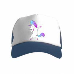 Детская кепка-тракер Unicorn swag