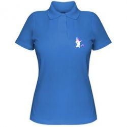 Женская футболка поло Unicorn swag