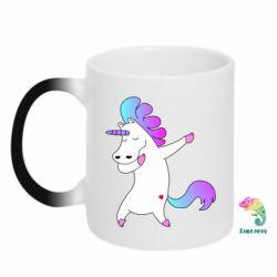 Кружка-хамелеон Unicorn swag
