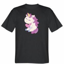 Мужская футболка Unicorn with love