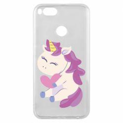 Чехол для Xiaomi Mi A1 Unicorn with love