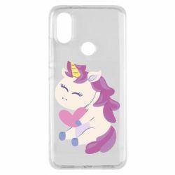 Чехол для Xiaomi Mi A2 Unicorn with love
