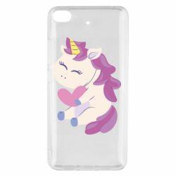 Чехол для Xiaomi Mi 5s Unicorn with love