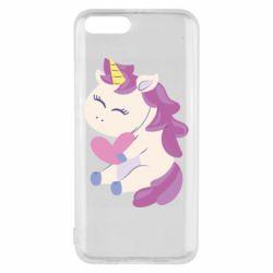 Чехол для Xiaomi Mi6 Unicorn with love