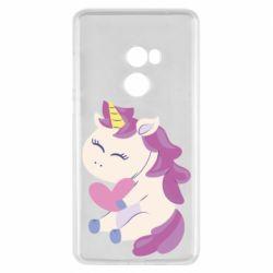 Чехол для Xiaomi Mi Mix 2 Unicorn with love