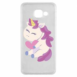 Чехол для Samsung A3 2016 Unicorn with love