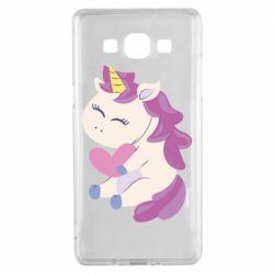 Чехол для Samsung A5 2015 Unicorn with love