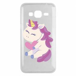 Чехол для Samsung J3 2016 Unicorn with love