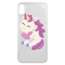 Чехол для iPhone Xs Max Unicorn with love
