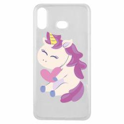 Чехол для Samsung A6s Unicorn with love