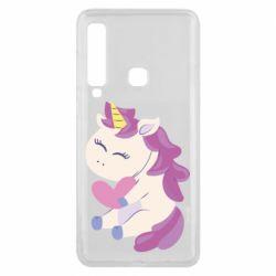 Чехол для Samsung A9 2018 Unicorn with love