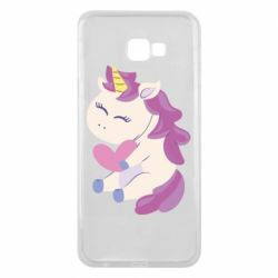 Чехол для Samsung J4 Plus 2018 Unicorn with love