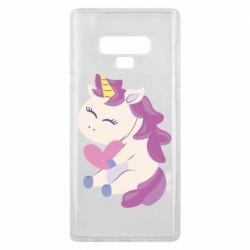 Чехол для Samsung Note 9 Unicorn with love