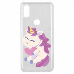 Чехол для Xiaomi Mi Mix 3 Unicorn with love