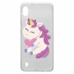 Чехол для Samsung A10 Unicorn with love