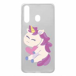 Чехол для Samsung A60 Unicorn with love