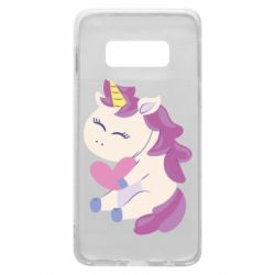 Чехол для Samsung S10e Unicorn with love