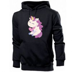 Мужская толстовка Unicorn with love