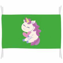 Флаг Unicorn with love