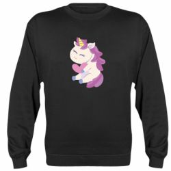 Реглан (свитшот) Unicorn with love