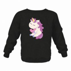 Детский реглан (свитшот) Unicorn with love