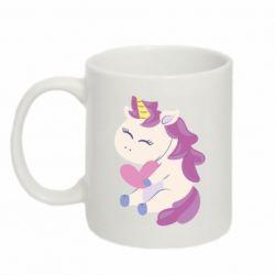 Кружка 320ml Unicorn with love