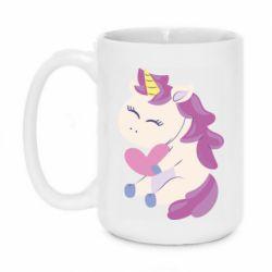 Кружка 420ml Unicorn with love