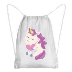 Рюкзак-мешок Unicorn with love