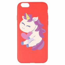 Чехол для iPhone 6 Plus/6S Plus Unicorn with love