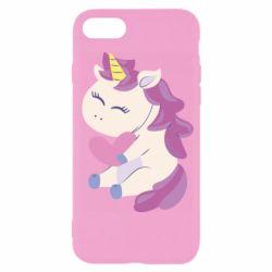 Чехол для iPhone 7 Unicorn with love