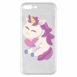Чехол для iPhone 7 Plus Unicorn with love