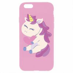 Чехол для iPhone 6/6S Unicorn with love