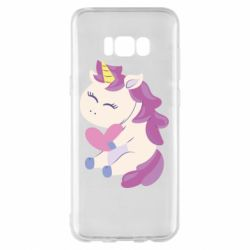 Чехол для Samsung S8+ Unicorn with love