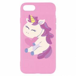 Чехол для iPhone 8 Unicorn with love