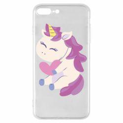 Чехол для iPhone 8 Plus Unicorn with love