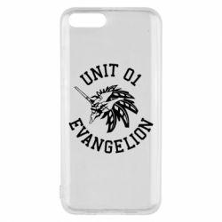 Чехол для Xiaomi Mi6 Unit 01 evangelion