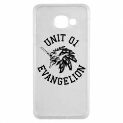Чохол для Samsung A3 2016 Unit 01 evangelion