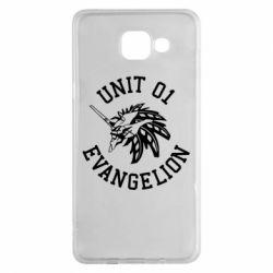 Чохол для Samsung A5 2016 Unit 01 evangelion