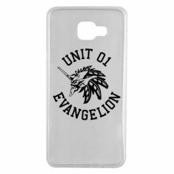 Чохол для Samsung A7 2016 Unit 01 evangelion