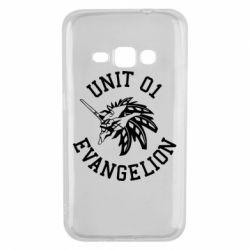 Чохол для Samsung J1 2016 Unit 01 evangelion