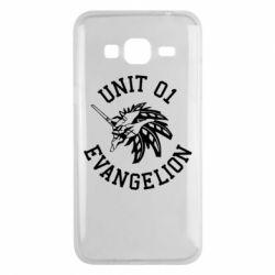 Чохол для Samsung J3 2016 Unit 01 evangelion
