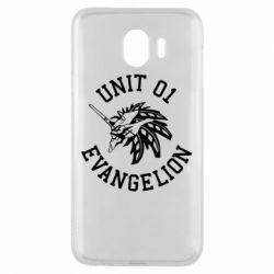 Чохол для Samsung J4 Unit 01 evangelion