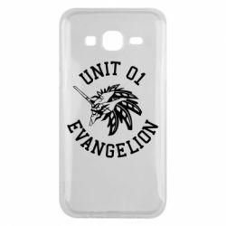 Чохол для Samsung J5 2015 Unit 01 evangelion