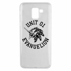 Чохол для Samsung J6 Unit 01 evangelion