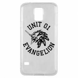 Чохол для Samsung S5 Unit 01 evangelion