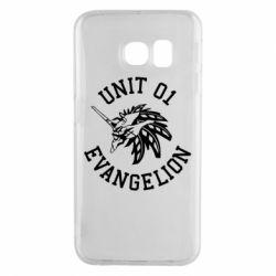 Чохол для Samsung S6 EDGE Unit 01 evangelion