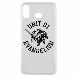 Чохол для Samsung A6s Unit 01 evangelion