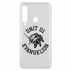 Чохол для Samsung A9 2018 Unit 01 evangelion