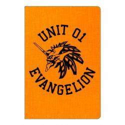 Блокнот А5 Unit 01 evangelion